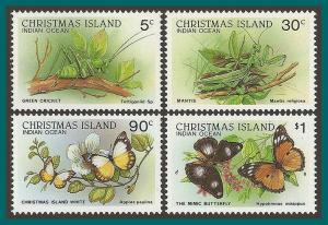 Christmas Island 1988 Wildlife IV, MNH #199-209,SG232-SG242