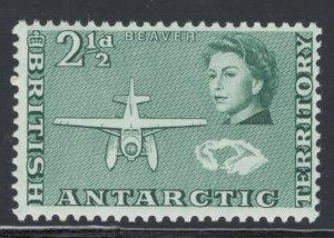 British Antarctic Territory 1963 Beaver Seaplane  2 1/2p Scott # 5 MH