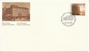 1980 Canada FDC Sc 852 - Academy of Arts