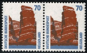 GERMANY 1987-96 70 pf TOURIST SIGHTS PAIRS STAMP(S)SG2210 MINT (NH) SUPERB
