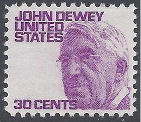 #1291a 30c Prominent Americans John Dewey 1968 Mint NH