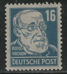 DDR under russian occ. Scott # 10N35, mint nh