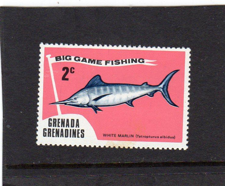 Grenada/Grenadine Game Fishing  MNH