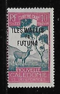 Wallis and Futuna Islands J14 Postage Dues single MLH