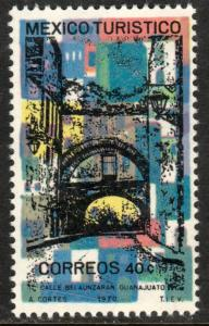 MEXICO 1012, TOURISM PROMOTION, GUANAJUATO CITY STREET. MINT NH. VF.