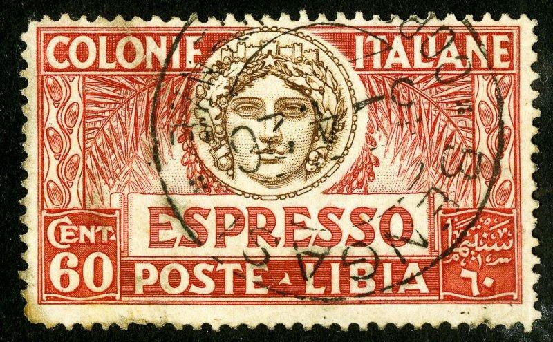 Libya Stamps # E6 Used VF Scott Value $28.00