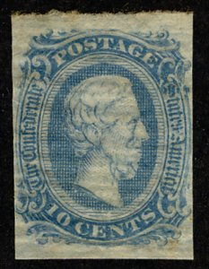 US #CONFED US #11 SUPERB mint never hinged, four nice margins,  normal dry gu...