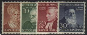 Germany #B327-30  Mint VF NH