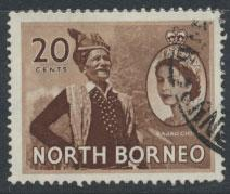 North Borneo  SG 380  SC# 269  Used    see scan
