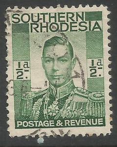SOUTHERN RHODESIA 42 VFU R965-3