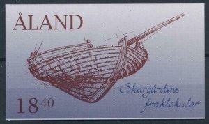 Aland 1995 #112a MNH. Ships, booklet