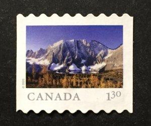 Canada 2020 #3217 Single from coil strip , Kootenay Nat'l Park, Used.