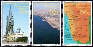 Namibia MNH 759-61 Walvis Bay Incorporated 1994