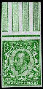 SG346 SPEC N6f(1), ½d green, NH MINT. Cat £220. WMK ROYAL CYPHER (MULTIPLE)