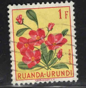 Ruanda-Urundi Scott 122 Used stamp