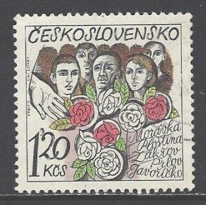 Czechoslovakia Sc # 1994 used (DDT)