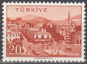 Turkey #1321 MNH  (S6109)