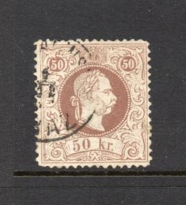 Austria #40 Fine Print 50kr KING - used and Nice cv$190.00