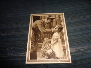 GERMANY WWII PROPAGANDA POSTAL CARD:   FUHRER BIRTHDAY