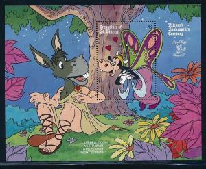 Disney St-Vincent Grenadines - MNH Souvenir Sheet Clarabelle Cow #708 (1990)