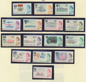 Bahamas Stamps Scott #230 To 244, Mint Never Hinged - Free U.S. Shipping, Fre...