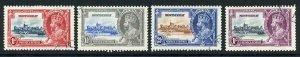 Montserrat SG94/97 1935 Silver Jubilee Set Used