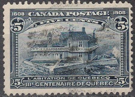 Canada #99 F-VF Used CV $70.00 (A16335)