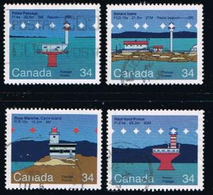 Canada #1063-6 Lighthouses VF Used Set