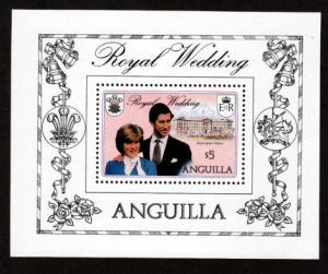 Anguilla 447 Mint NH MNH Souvenir Sheet Royal Wedding!