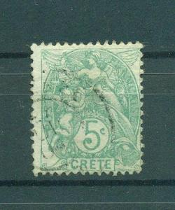 France Offices Crete sc# 5 used cat val $2.50