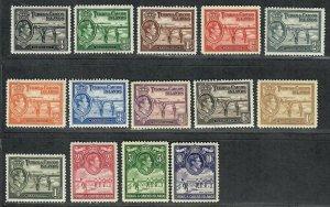 $Turks+Caicos Sc#79-89 M/NH/VF, complete set, some tropical toning, Cv. $135