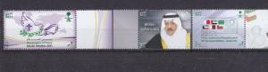 Lot Of 3 COMPLETE SET From Saudi Arabia, All MNH