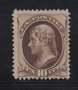 US Stamp Scott #161 Mint NO GUM SCV $250