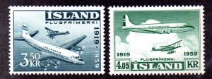 ICELAND C30-1 MLH SCV $1.85 BIN $1.10 AIRPLANES