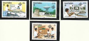 Seychelles Stamps Scott #507 To 510, Mint Never Hinged