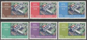 Salvador #697-702  MNH VF (V2509)