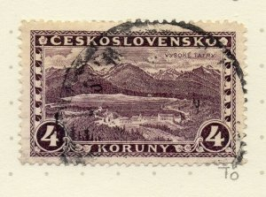 Czechoslovakia 1926-27 Issue Fine Used 4k. NW-148620