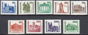 East Germany - 1990 combined issue DDR-FRG Sc# 2832/2840 - MNH (283N)