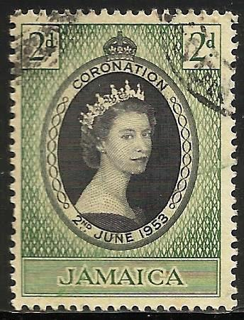 Jamaica 1953 Scott# 153 Used