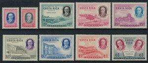 Costa Rica #C274-82*  CV $5.45