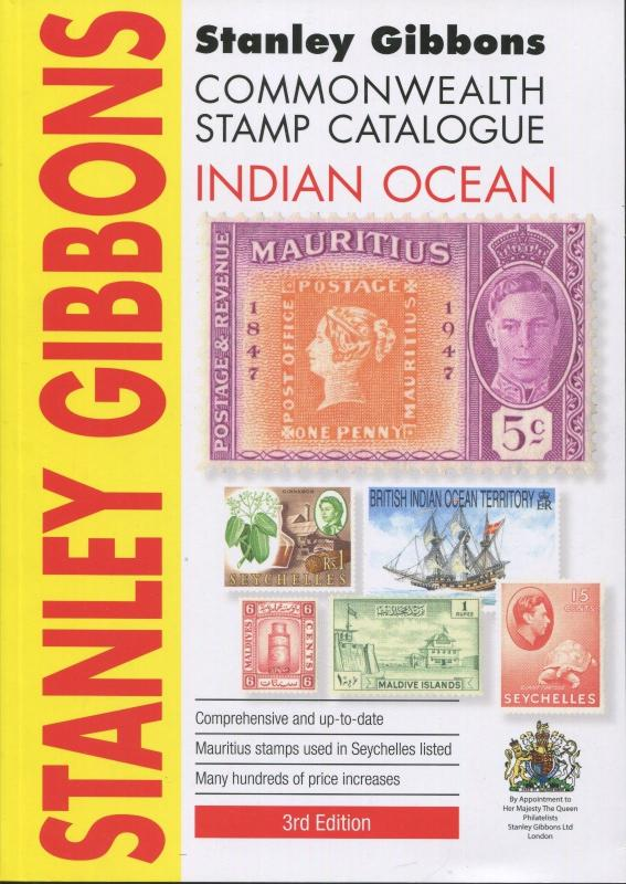 New 2016 Stanley Gibbons Commonwealth Stamp Catalogue Indian Ocean 3rd Edition