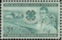 US Stamp #1005 MNH - 4H Clubs Single