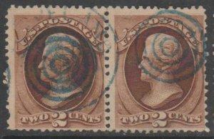 U.S. Scott #146 Jackson Stamp - Used Pair
