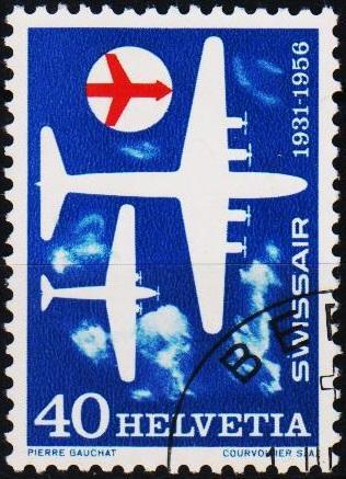 Switzerland.1956 40c S.G.570 Fine Used