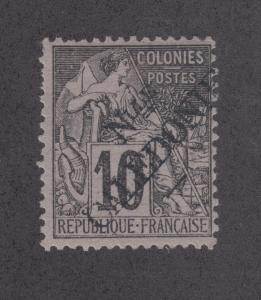 New Caledonia Sc 24 MLH. 1892 10c Commerce w/ New Caladonie ovpt
