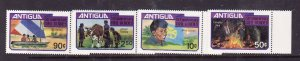 Antigua-Sc#623-5-unused NH set-id12-Royal Wedding-Princess Diana-1981-