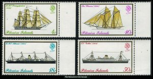 Pitcairn Islands Scott 147-150 Mint never hinged.