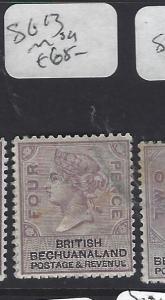 BECHUANALAND (P1910B) QV   4D   SG 13   MOG