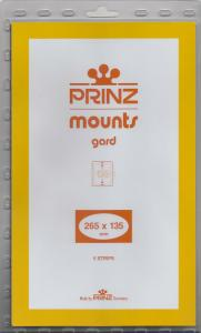 PRINZ CLEAR MOUNTS 265X135 (5) RETAIL PRICE $11.50