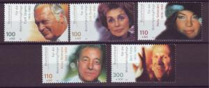 J20597 Jlstamps 2000 germany set mnh #b873-7 actors